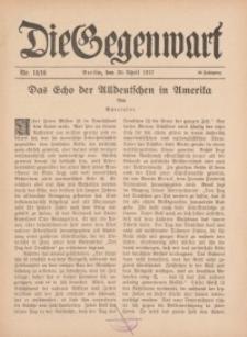 Die Gegenwart: Wochenschrift für Literatur, Kunst, Leben, 46. Jahrgang, 1917, H. 15/16