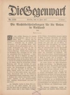Die Gegenwart: Wochenschrift für Literatur, Kunst, Leben, 46. Jahrgang, 1917, H. 21/22