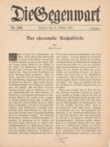 Die Gegenwart: Wochenschrift für Literatur, Kunst, Leben, 47. Jahrgang, 1918, H. 35/36