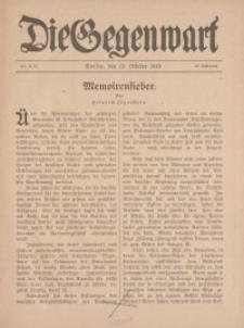 Die Gegenwart: Wochenschrift für Literatur, Kunst, Leben, 48. Jahrgang, 1919, H. 19/20