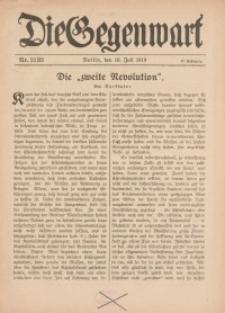 Die Gegenwart: Wochenschrift für Literatur, Kunst, Leben, 48. Jahrgang, 1919, H. 29/30