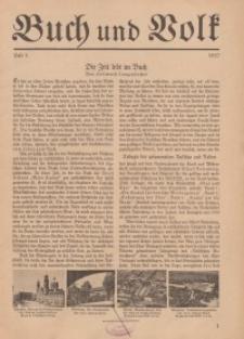 Buch und Volk, 1937, H. 5.