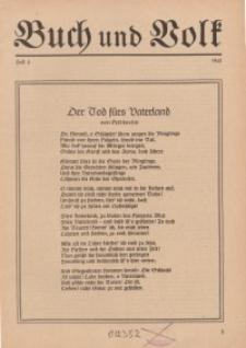 Buch und Volk, 1941, H. 4.