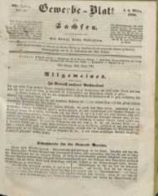 Gewerbe-Blatt für Sachsen. Jahrg. III, 8. März, nr 10.