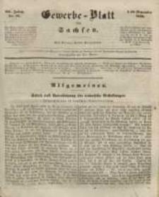 Gewerbe-Blatt für Sachsen. Jahrg. III, 29. November, nr 48.