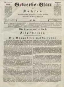 Gewerbe-Blatt für Sachsen. Jahrg. VIII, 6. Januar, nr 2.