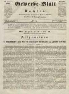 Gewerbe-Blatt für Sachsen. Jahrg. VIII, 13. Januar, nr 4.