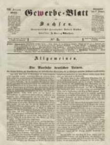 Gewerbe-Blatt für Sachsen. Jahrg. VIII, 17. Januar, nr 5.
