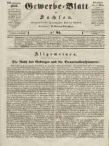 Gewerbe-Blatt für Sachsen. Jahrg. VIII, 14. März, nr 21.