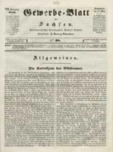 Gewerbe-Blatt für Sachsen. Jahrg. VIII, 12. Mai, nr 38.