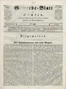 Gewerbe-Blatt für Sachsen. Jahrg. VIII, 23. Mai, nr 41.