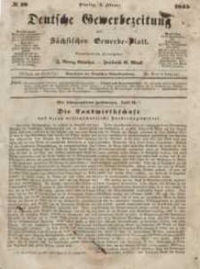 Deutsche Gewerbezeitung und Sächsisches Gewerbeblatt, Jahrg. X. Dienstag, 4. Februar, nr 10.