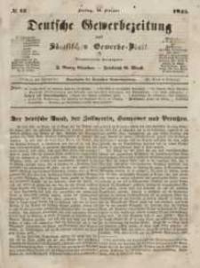 Deutsche Gewerbezeitung und Sächsisches Gewerbeblatt, Jahrg. X. Freitag, 14. Februar, nr 13.