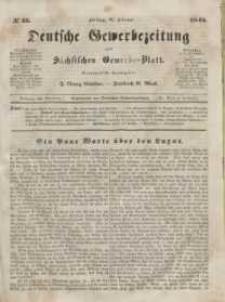 Deutsche Gewerbezeitung und Sächsisches Gewerbeblatt, Jahrg. X. Freitag, 21. Februar, nr 15.
