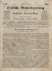 Deutsche Gewerbezeitung und Sächsisches Gewerbeblatt, Jahrg. X. Dienstag, 1. April, nr 26.
