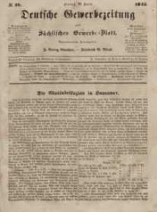 Deutsche Gewerbezeitung und Sächsisches Gewerbeblatt, Jahrg. X. Freitag, 18. April, nr 31.