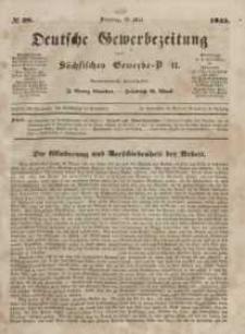 Deutsche Gewerbezeitung und Sächsisches Gewerbeblatt, Jahrg. X. Dienstag, 13. Mai, nr 38.