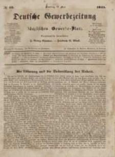 Deutsche Gewerbezeitung und Sächsisches Gewerbeblatt, Jahrg. X. Dienstag, 27. Mai, nr 42.