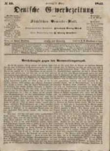 Deutsche Gewerbezeitung und Sächsisches Gewerbeblatt, Jahrg. XII, Freitag, 5. März, nr 19.