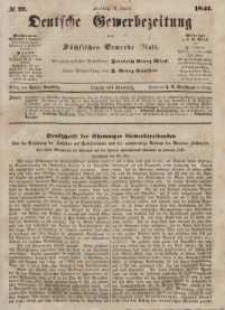 Deutsche Gewerbezeitung und Sächsisches Gewerbeblatt, Jahrg. XII, Freitag, 2. April, nr 27.