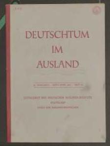 Deutschtum im Ausland, 25. Jahrgang, 1942, H. 3/4