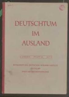 Deutschtum im Ausland, 25. Jahrgang, 1942, H. 5/6