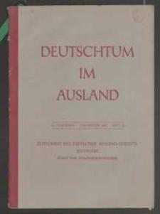 Deutschtum im Ausland, 25. Jahrgang, 1942, H. 7/8