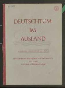 Deutschtum im Ausland, 26. Jahrgang, 1943, H. 1/2