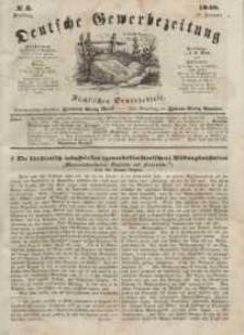Deutsche Gewerbezeitung und Sächsisches Gewerbeblatt, Jahrg. XIII, Dienstag, 11. Januar, nr 3.
