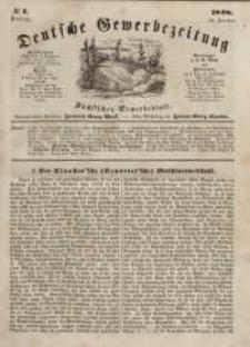 Deutsche Gewerbezeitung und Sächsisches Gewerbeblatt, Jahrg. XIII, Dienstag, 25. Januar, nr 7.