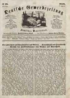 Deutsche Gewerbezeitung und Sächsisches Gewerbeblatt, Jahrg. XIII, Freitag, 7. April, nr 28.