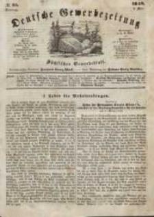 Deutsche Gewerbezeitung und Sächsisches Gewerbeblatt, Jahrg. XIII, Dienstag, 2. Mai, nr 35.