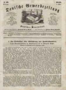 Deutsche Gewerbezeitung und Sächsisches Gewerbeblatt, Jahrg. XIII, Dienstag, 9. Mai, nr 37.
