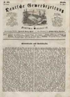 Deutsche Gewerbezeitung und Sächsisches Gewerbeblatt, Jahrg. XIII, Freitag, 19. Mai, nr 40.
