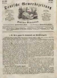 Deutsche Gewerbezeitung und Sächsisches Gewerbeblatt, Jahrg. XIII, Dienstag, 30. Mai, nr 43.