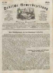 Deutsche Gewerbezeitung und Sächsisches Gewerbeblatt, Jahrg. XIII, Freitag, 9. Juni, nr 46.