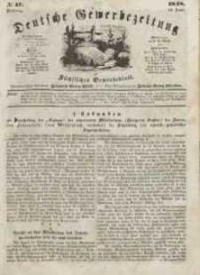 Deutsche Gewerbezeitung und Sächsisches Gewerbeblatt, Jahrg. XIII, Dienstag, 13. Juni, nr 47.