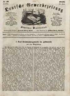 Deutsche Gewerbezeitung und Sächsisches Gewerbeblatt, Jahrg. XIII, Freitag, 23. Juni, nr 50.