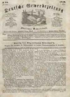 Deutsche Gewerbezeitung und Sächsisches Gewerbeblatt, Jahrg. XIII, Freitag, 7. Juli, nr 54.