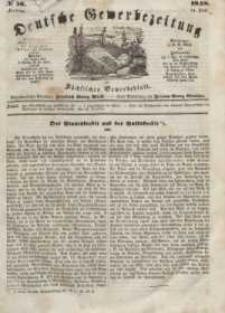Deutsche Gewerbezeitung und Sächsisches Gewerbeblatt, Jahrg. XIII, Freitag, 14. Juli, nr 56.