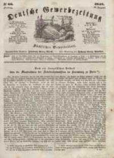 Deutsche Gewerbezeitung und Sächsisches Gewerbeblatt, Jahrg. XIII, Freitag, 18. August, nr 66.