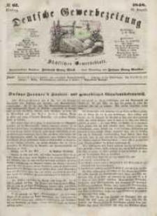 Deutsche Gewerbezeitung und Sächsisches Gewerbeblatt, Jahrg. XIII, Dienstag, 22. August, nr 67.