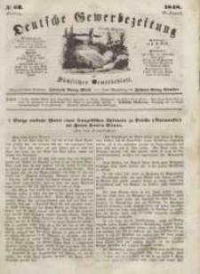 Deutsche Gewerbezeitung und Sächsisches Gewerbeblatt, Jahrg. XIII, Freitag, 25. August, nr 68.