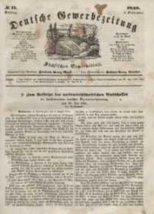 Deutsche Gewerbezeitung und Sächsisches Gewerbeblatt, Jahrg. XIII, Dienstag, 5. September, nr 71.