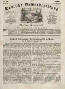 Deutsche Gewerbezeitung und Sächsisches Gewerbeblatt, Jahrg. XIII, Dienstag, 10. Oktober, nr 81.