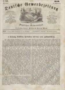 Deutsche Gewerbezeitung und Sächsisches Gewerbeblatt, Jahrg. XIII, Freitag, 13. Oktober, nr 82.