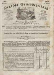 Deutsche Gewerbezeitung und Sächsisches Gewerbeblatt, Jahrg. XIII, Dienstag, 17. Oktober, nr 83.