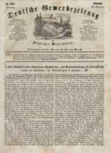 Deutsche Gewerbezeitung und Sächsisches Gewerbeblatt, Jahrg. XIII, Dienstag, 24. Oktober, nr 85.