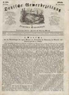 Deutsche Gewerbezeitung und Sächsisches Gewerbeblatt, Jahrg. XIII, Freitag, 24. November, nr 94.
