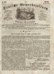 Deutsche Gewerbezeitung und Sächsisches Gewerbeblatt, Jahrg. XIII, Dienstag, 12. Dezember, nr 99.
